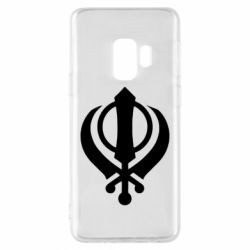Чехол для Samsung S9 White Khanda