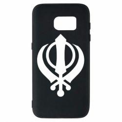 Чехол для Samsung S7 White Khanda