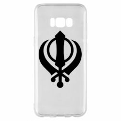 Чехол для Samsung S8+ White Khanda
