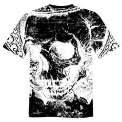 Мужская 3D футболка White Skull 6435d7b1c8b91