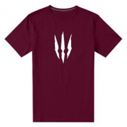 Мужская стрейчевая футболка Wiedzmin logo
