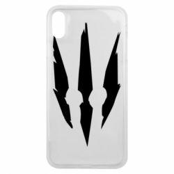 Чехол для iPhone Xs Max Wiedzmin logo