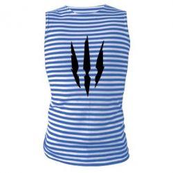Майка-тельняшка Wiedzmin logo