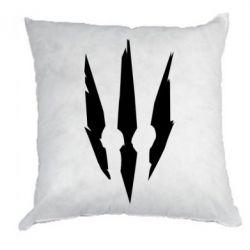 Подушка Wiedzmin logo