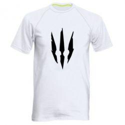 Мужская спортивная футболка Wiedzmin logo