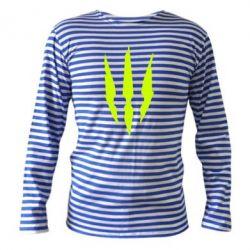 Тельняшка с длинным рукавом Wiedzmin logo