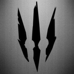 Наклейка Wiedzmin logo