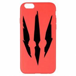 Чехол для iPhone 6 Plus/6S Plus Wiedzmin logo