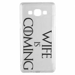 Чохол для Samsung A5 2015 Wife is coming