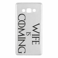 Чохол для Samsung A7 2015 Wife is coming