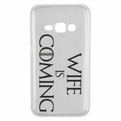Чохол для Samsung J1 2016 Wife is coming