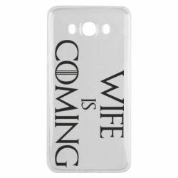 Чохол для Samsung J7 2016 Wife is coming