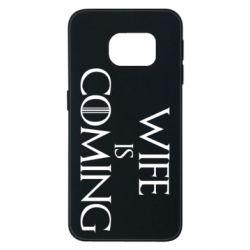 Чохол для Samsung S6 EDGE Wife is coming