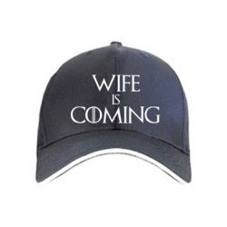 Кепка Wife is coming