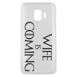 Чохол для Samsung J2 Core Wife is coming