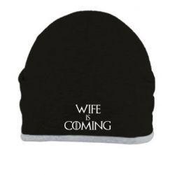 Шапка Wife is coming