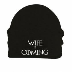 Шапка на флісі Wife is coming