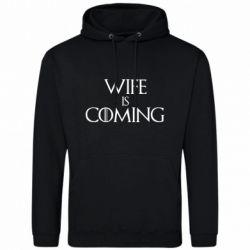 Чоловіча толстовка Wife is coming