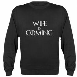 Реглан (світшот) Wife is coming