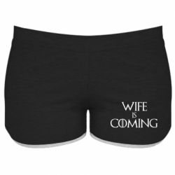 Жіночі шорти Wife is coming