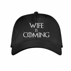 Дитяча кепка Wife is coming