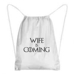 Рюкзак-мішок Wife is coming