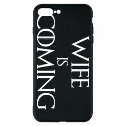Чохол для iPhone 7 Plus Wife is coming
