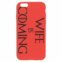 Чохол для iPhone 6/6S Wife is coming