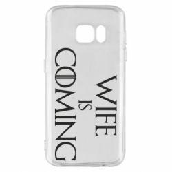 Чохол для Samsung S7 Wife is coming