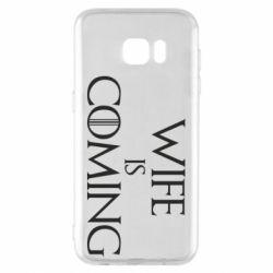 Чохол для Samsung S7 EDGE Wife is coming
