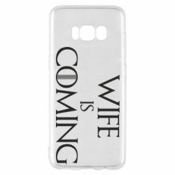 Чохол для Samsung S8 Wife is coming