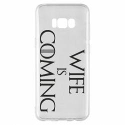 Чохол для Samsung S8+ Wife is coming