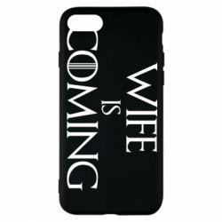 Чохол для iPhone 8 Wife is coming