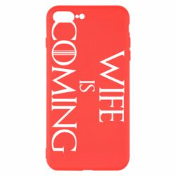 Чохол для iPhone 8 Plus Wife is coming