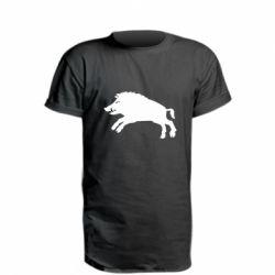 Подовжена футболка Wild boar