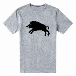 Чоловіча стрейчева футболка Wild boar