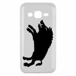 Чохол для Samsung J2 2015 Wild boar