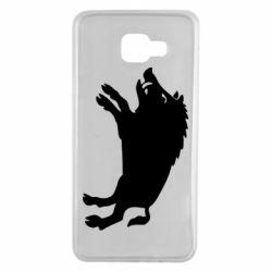 Чохол для Samsung A7 2016 Wild boar