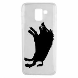 Чохол для Samsung J6 Wild boar