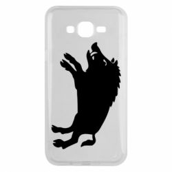 Чохол для Samsung J7 2015 Wild boar