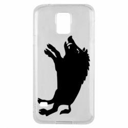 Чохол для Samsung S5 Wild boar