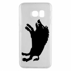 Чохол для Samsung S6 EDGE Wild boar