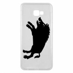Чохол для Samsung J4 Plus 2018 Wild boar