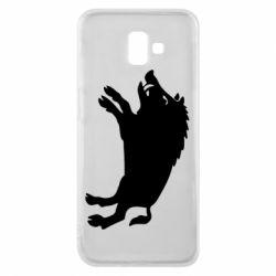 Чохол для Samsung J6 Plus 2018 Wild boar