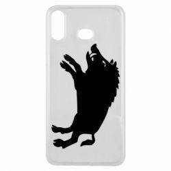 Чохол для Samsung A6s Wild boar