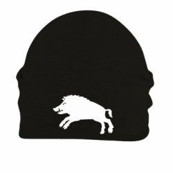 Шапка на флісі Wild boar
