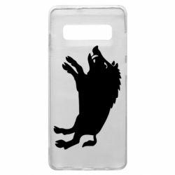 Чохол для Samsung S10+ Wild boar