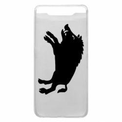 Чохол для Samsung A80 Wild boar