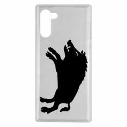 Чохол для Samsung Note 10 Wild boar