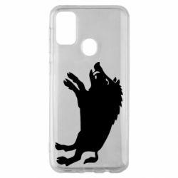 Чохол для Samsung M30s Wild boar